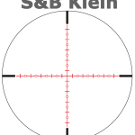 Schmidt and Bender Klein Scope Reticle