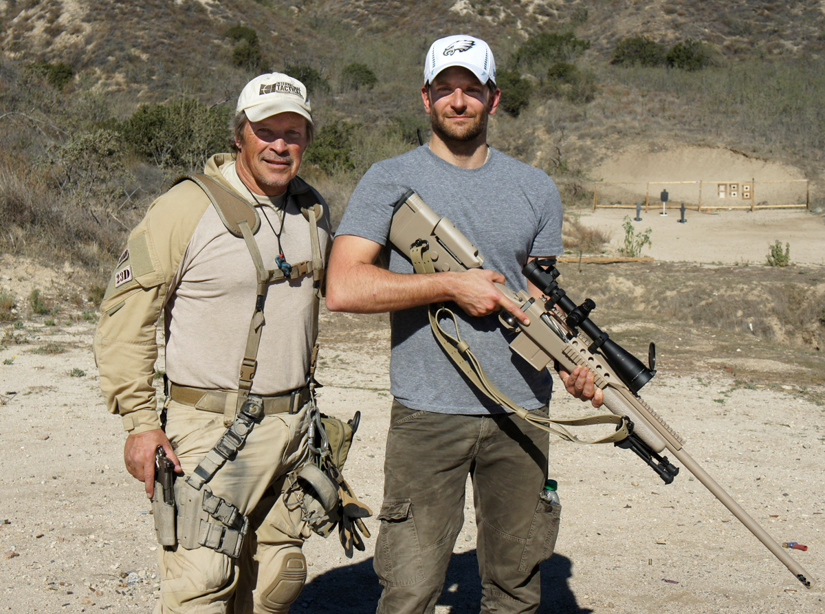 American Sniper Movie Bradley Cooper Rifle Training