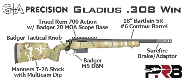 Chris Kyle GA Precision GAP Gladius-Rifle