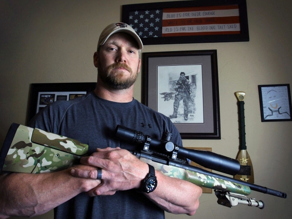 Chris Kyle with GA Precision GAP Gladius