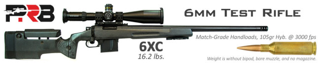 6mm 6XC Test Rifle