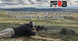 300 Norma 338 Lapua Custom ELR Rifle